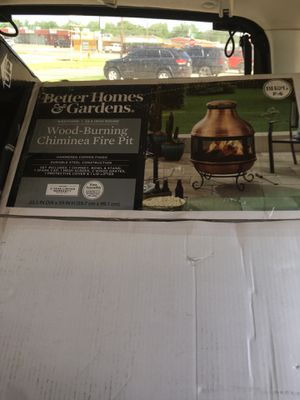 Photo Better homes and garden chimney fire Pit