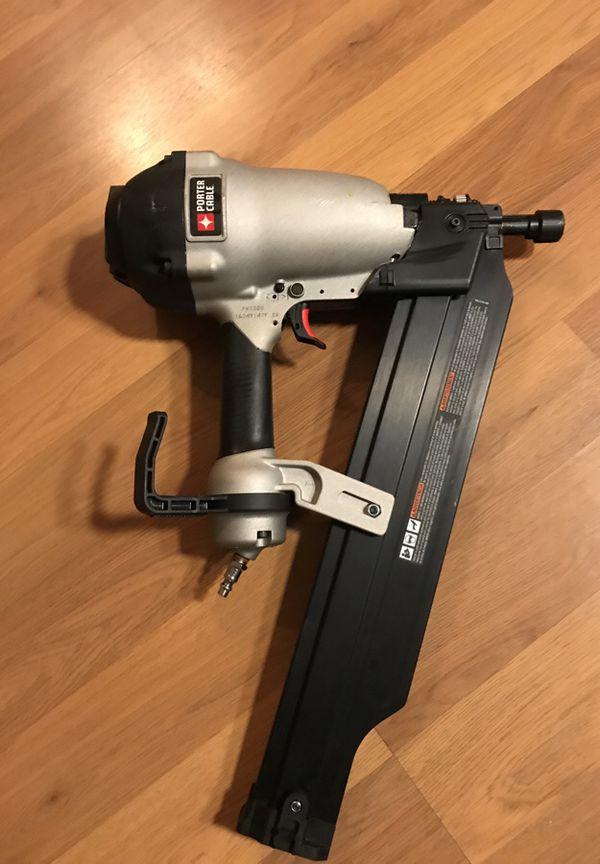 New porter cable fr350 framing nailer/nail gun (Tools & Machinery ...