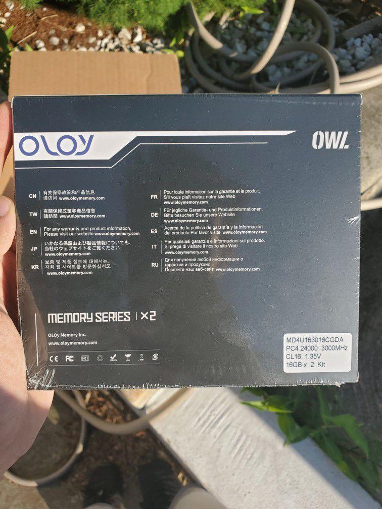 Oloy 32GB (2x16GB) DDR4 3000