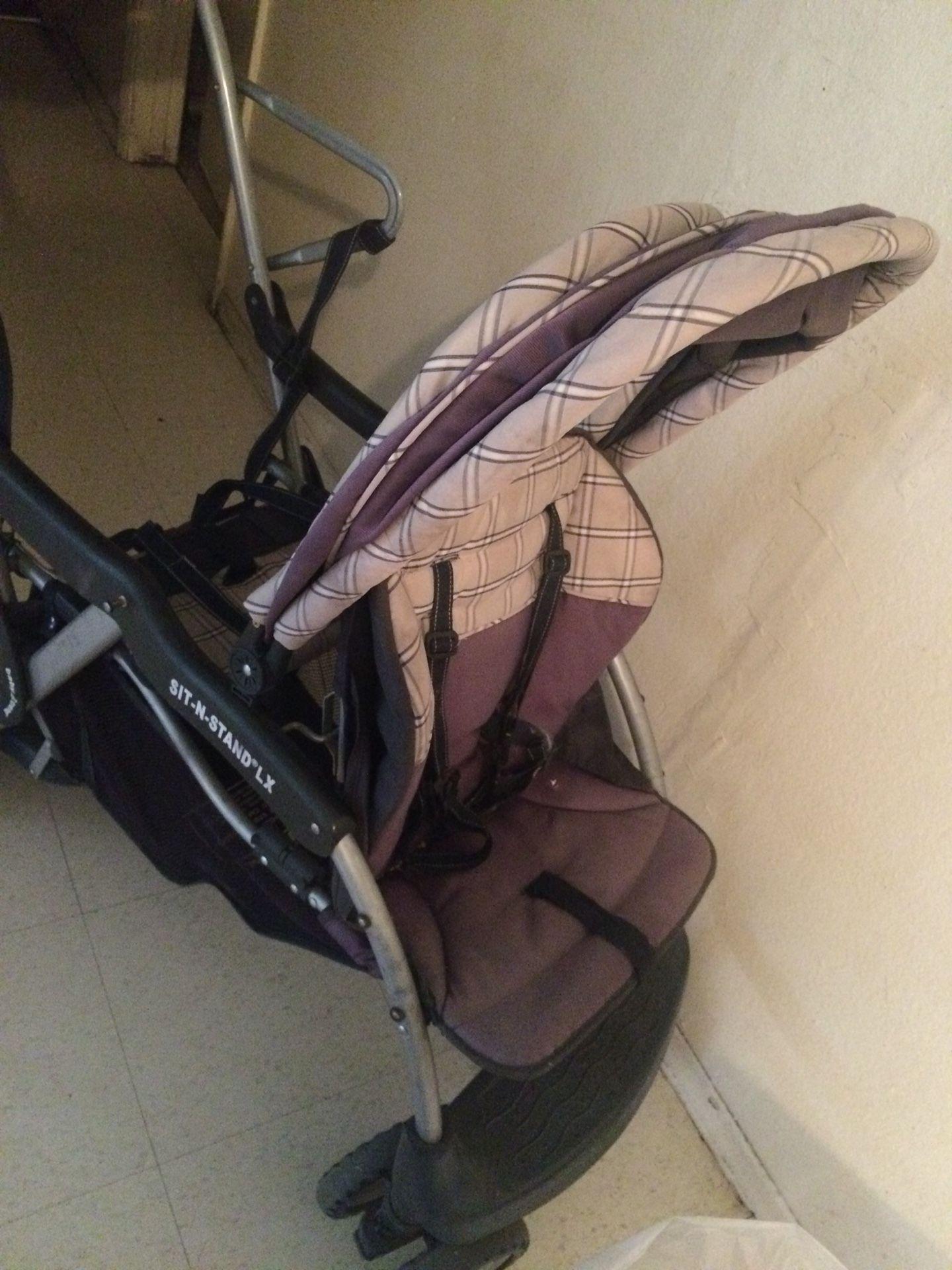 Baby trend stroller double