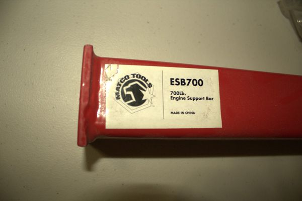 Matco Tools 700 lb  Engine Support Bar ESB700 for Sale in Las Vegas, NV -  OfferUp