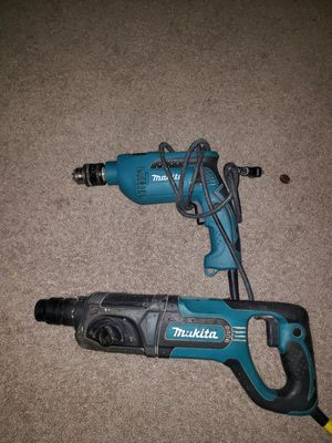 Rotary hammer drill makita y drill for Sale in Springfield, VA