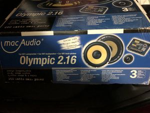Mac audio 6.5 speakers for Sale in Lake Mary, FL