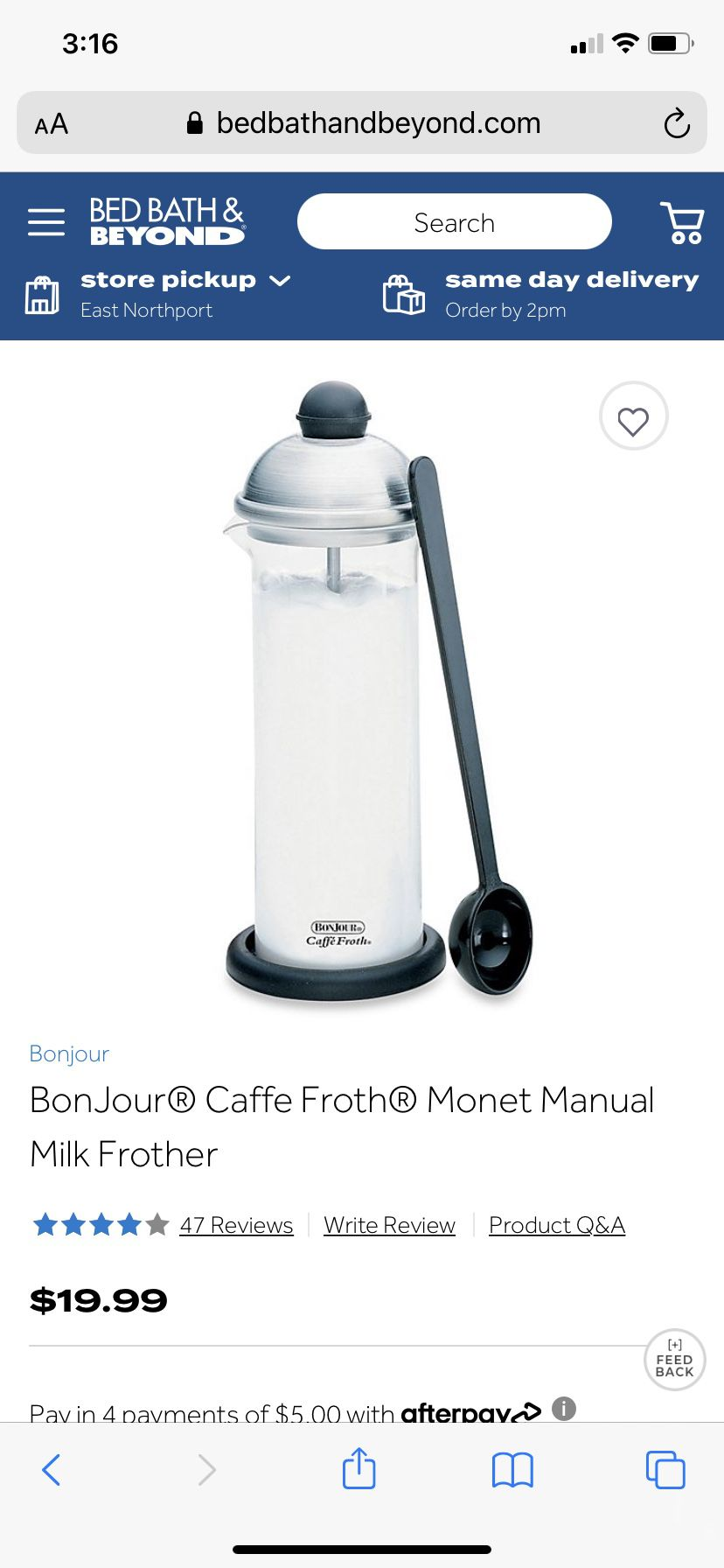 Caffe Froth Monet