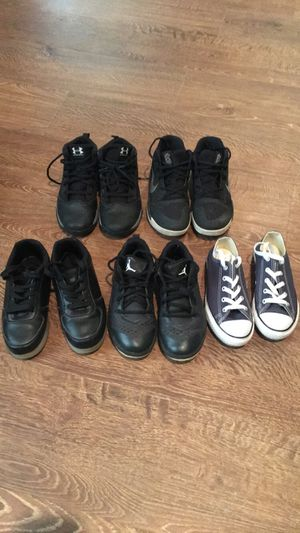 Different brand and sizes-of boys shoes for Sale in Sterling, VA