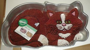1987 Wilton KITTY CAT Cake Baking Pan for Sale in Silver Spring, MD