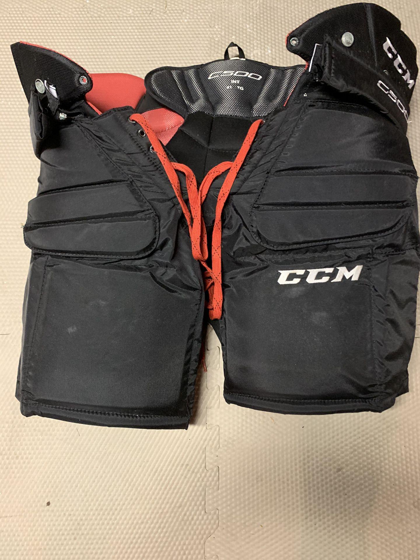 CCM C500 INT XL Goal Pants