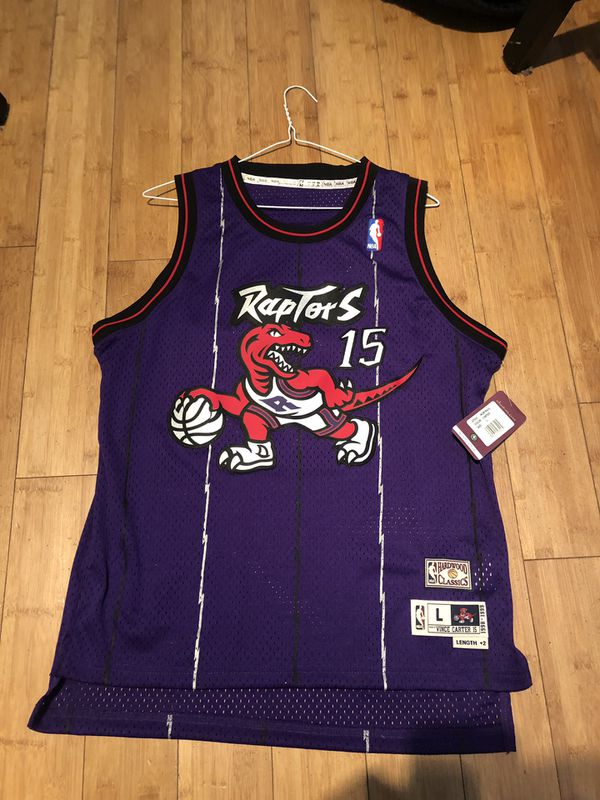 official photos eda0b 72773 nba adidas Hardwood Classic Vince Carter raptors jersey size Youth Large  for Sale in San Leandro, CA - OfferUp
