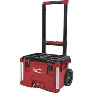 Photo NEW MILWAUKEE 48-22-8426 PACKOUT 22 INCH ROLLING TOOL BOX-$110