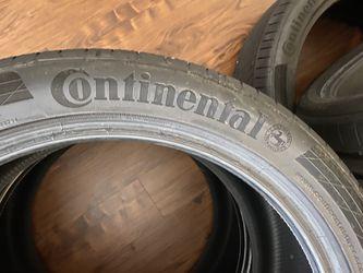 SET all 4 Continental contisport contact 5p 300 (OBO) Thumbnail