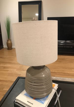 Coffee table corner table lamp for Sale in New York, NY