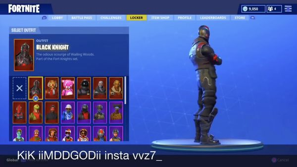 rare fortnite account ghoul trooper black knight more rare skins - rare fortnite account ghoul trooper