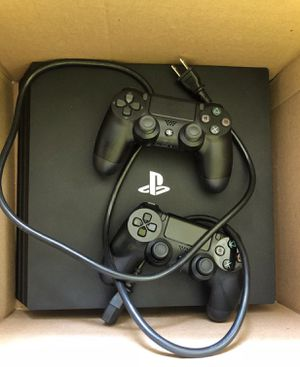 PS4 PRO with 2 CONTROLLERS for Sale in Arlington, VA