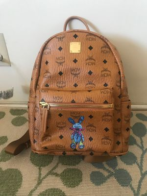 mcm backpack cognac small for Sale in Los Angeles, CA