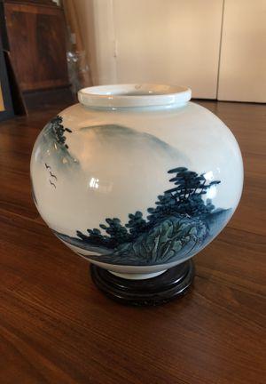 Vintage Large Korean Porcelain Vase for Sale in Los Angeles, CA