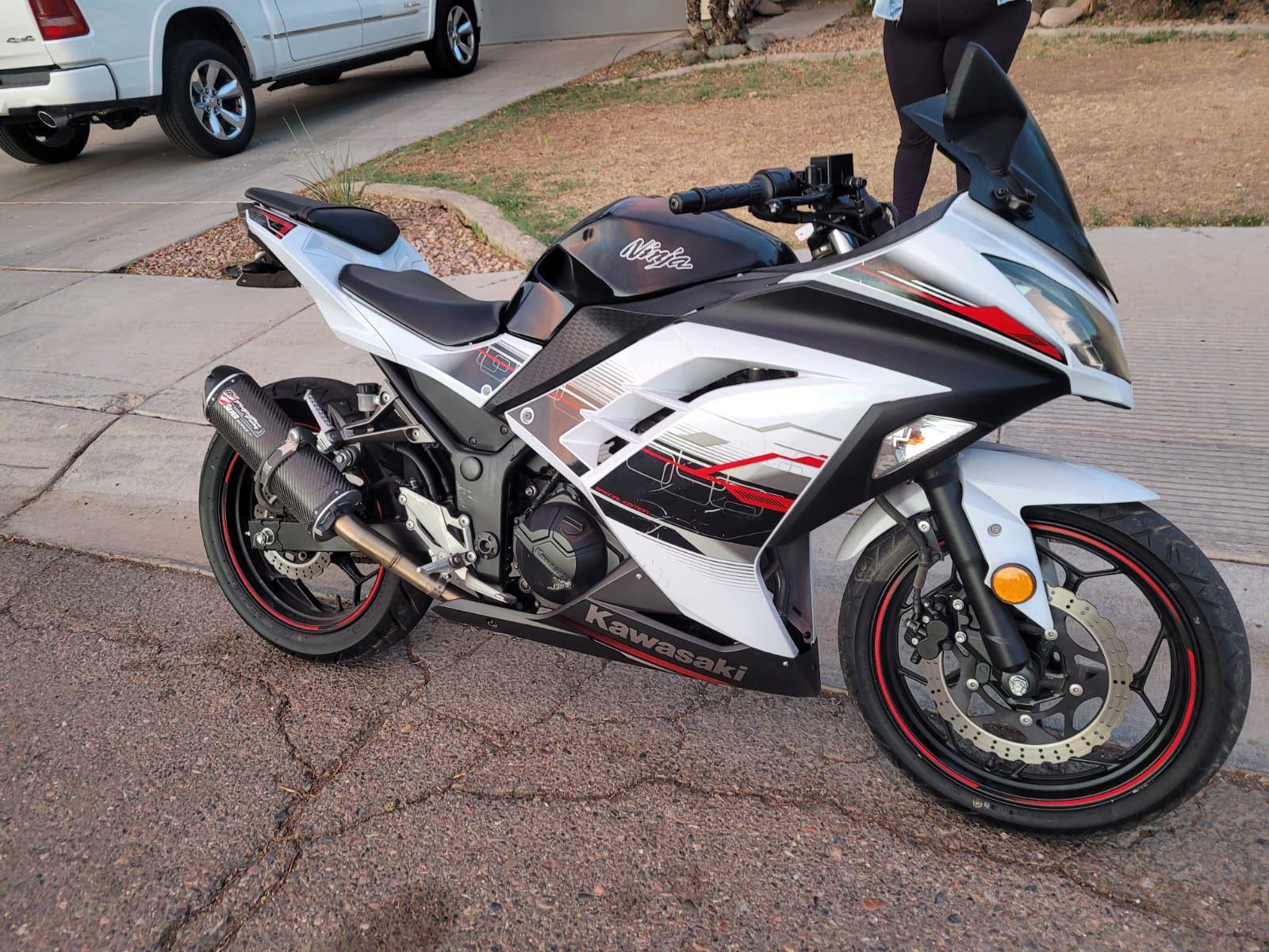 300cc Kawasaki  20014