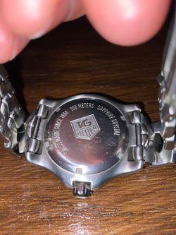 Tag Heuer 200 meters sapphire crystal Thumbnail