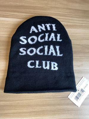 Photo Anti social social club mind games beanie OS in black. Perfect condition for sale ASSC Beanie brand new anti social social club