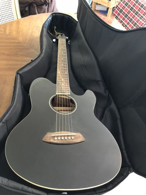 Ibanez Talman Electric Acoustic Guitar Black VGC for Sale in Sanford, FL