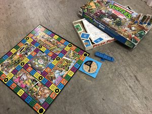 Ninja Turtle Pizza Power Board Game for Sale in Dunn Loring, VA