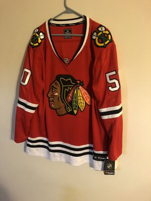 Photo NHL Fanatics Corey Crawford Chicago Blackhawks Home Jersey