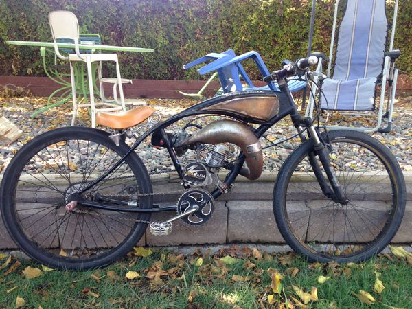 Offer Up Phoenix Az >> Motorized bicycle 66/80cc custom expansion chamber exhaust ...