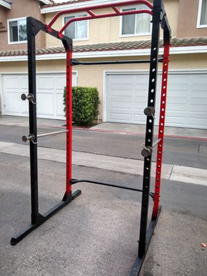 Photo Extreme power cage for your weights