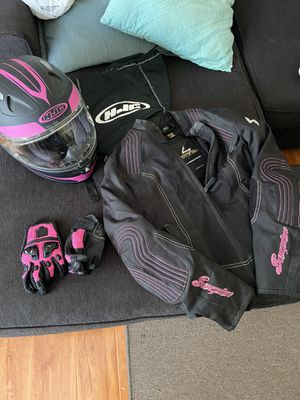 Photo Women's motorcycle gear