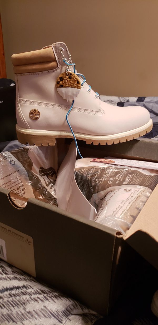 Milk Timberland Boots