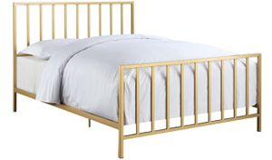 Gold bed frame for Sale in Springfield, VA