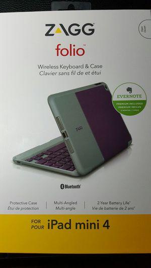 ZAGG wireless BT keyboard and case for Sale in Midlothian, VA