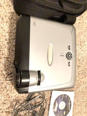 Optoma EP716 DLP Projector and Laser Pointer with Remote Control for Sale in Dallas, TX