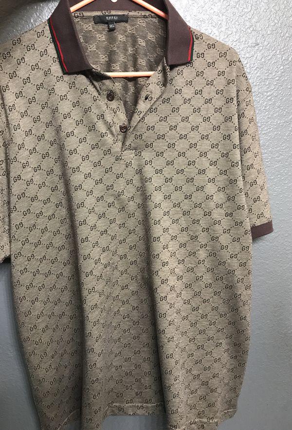 cf6dfefed5b Mens Gucci polo 3xl runs smalll so fits like a XL or L located in Visalia