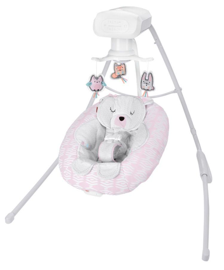 Fisher Price Snugabear Sweetie Cradle & Swing