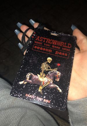 ASTROFEST GA TICKET WITH SEASON PASS for Sale in Rosenberg, TX
