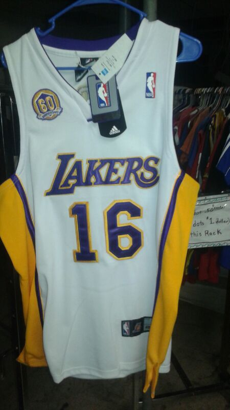 0c851a7be Lakers Pau Gasol 60th Anniversary jersey for Sale in Phoenix