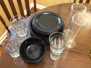 Plates, dishes, bowels, silverware, vases for Sale in Washington, DC