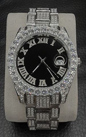 Photo 14k White Gold Solid Rolex Style Watch