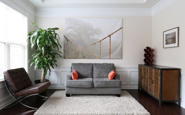 """IKEA Large Canvas Wall Art """"Jungle Journey"""" by Skip Nall $120 for ..."""