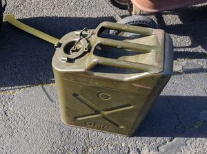 Photo VINTAGE GAS CAN
