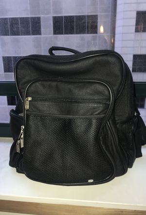 Amera-Leather executive backpack for Sale in St. Louis, MO