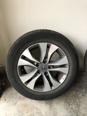 """OEM 16"""" Honda Accord Rims with Tires for Sale in Manassas, VA"""