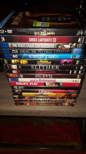 Horror Titles & More! (Blu-Ray/DVD) for Sale in MONTGOMRY VLG, MD