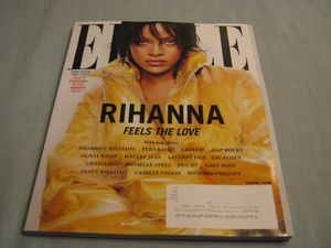 ELLE MAGAZINE October 2017 RIHANNA FEELS THE LOVE Elle's Personal Style Awards..never read... for Sale in Madison Heights, VA