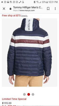 Tommy Hilfiger winter jacket Thumbnail