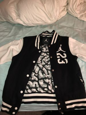 3e9f91a5d07833 Air Jordan Varsity Jacket Youth XL for Sale in Naperville