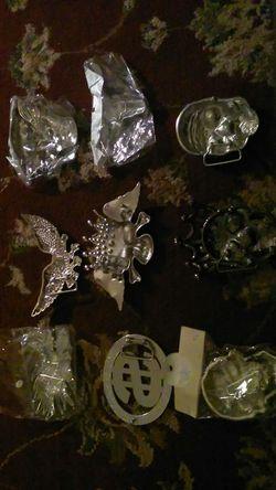 Diamond Skull head belt buckle Thumbnail