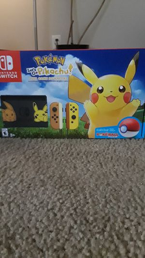 Nintendo Switch Special edition Let's Go Pikachu and Eevee for Sale in Arlington, VA