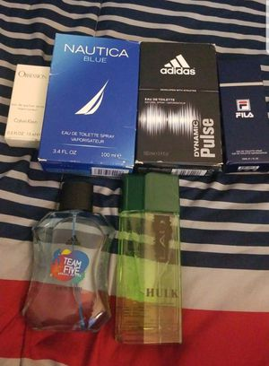 6 Different brands of men colognes for Sale in Washington, DC