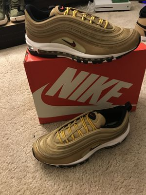 Nike Air Max 97 Metallic Gold for Sale in Reisterstown, MD
